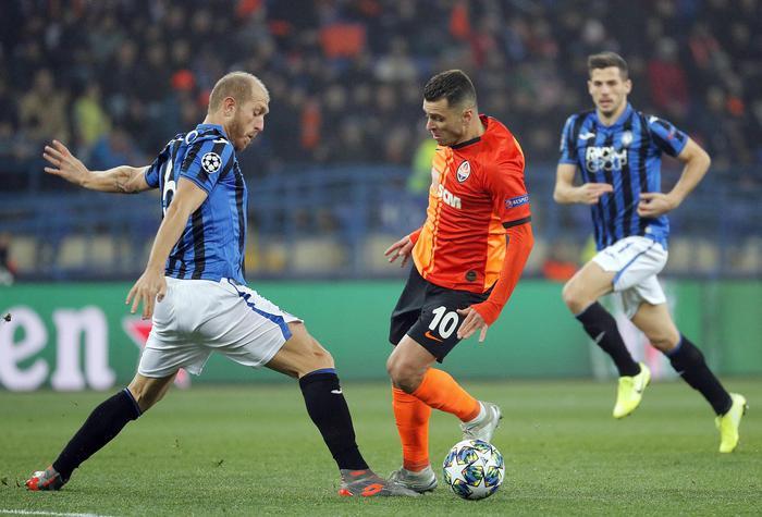 L'Atalanta compie l'impresa in Ucraina: 3 gol allo Shakhtar e ottavi di finale di Champions