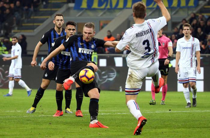 L'inter vince senza Icardi: Var protagonista allo stadio di Ferrara