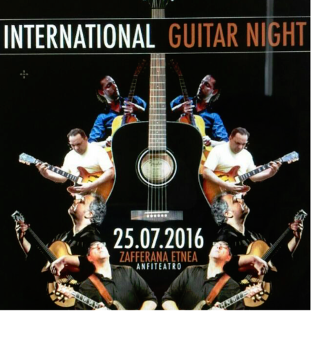 Zafferana Etnea, torna l'International guitar night
