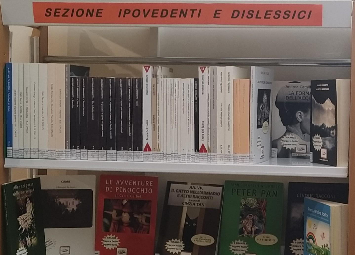 Modica, la Biblioteca Quasimodo apre la sezione per ipovedenti e dislessici