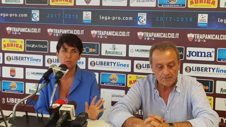 Scritte oscene contro Paola Iracani presidente del Cda del Trapani Calcio