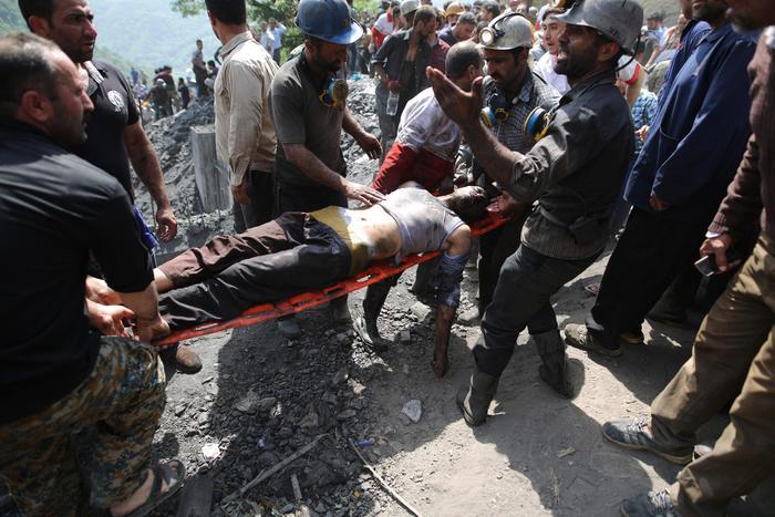 Esplosione in miniera in Iran, 21 morti