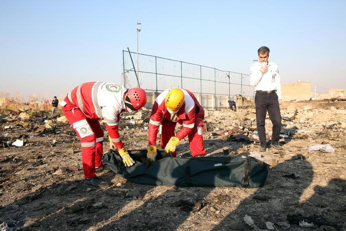 Aereo ucraino precipita in Iran: 176 morti tra passeggeri ed equipaggio
