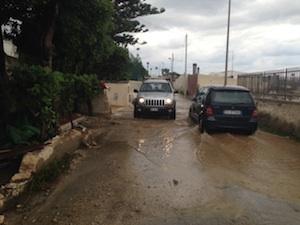 Siracusa, iniziata la conta dei danni del temporale: chiuse alcune strade dell'Isola