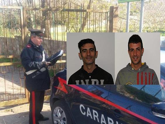 Sorpresi a rubare pezzi di lamiere, due arresti a Canicattini Bagni