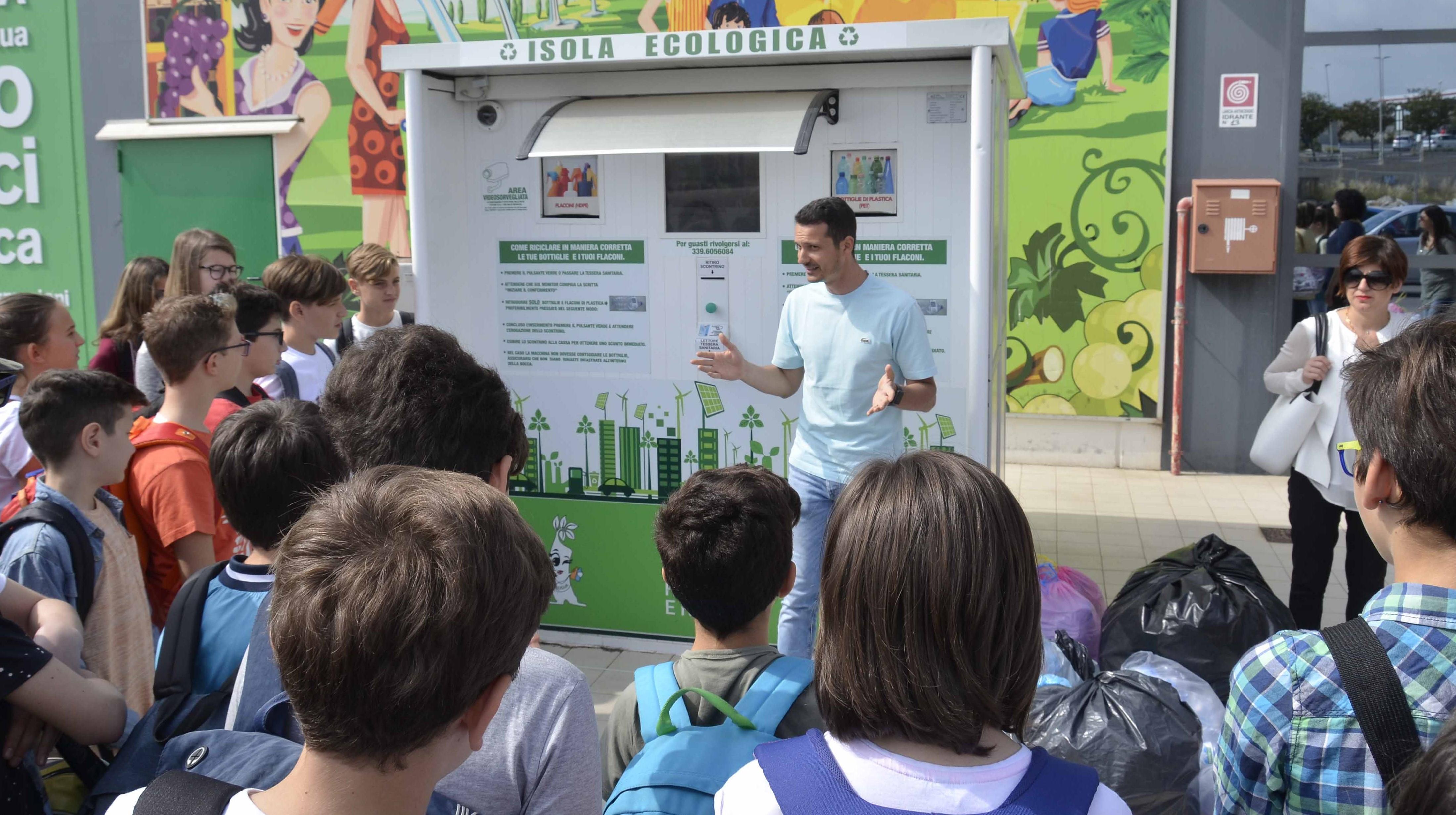 Ragusa, lezione di educazione ambientale per gli studenti del
