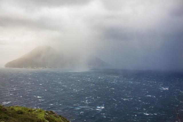 Eolie isolate parzialmente per il maltempo e il forte vento