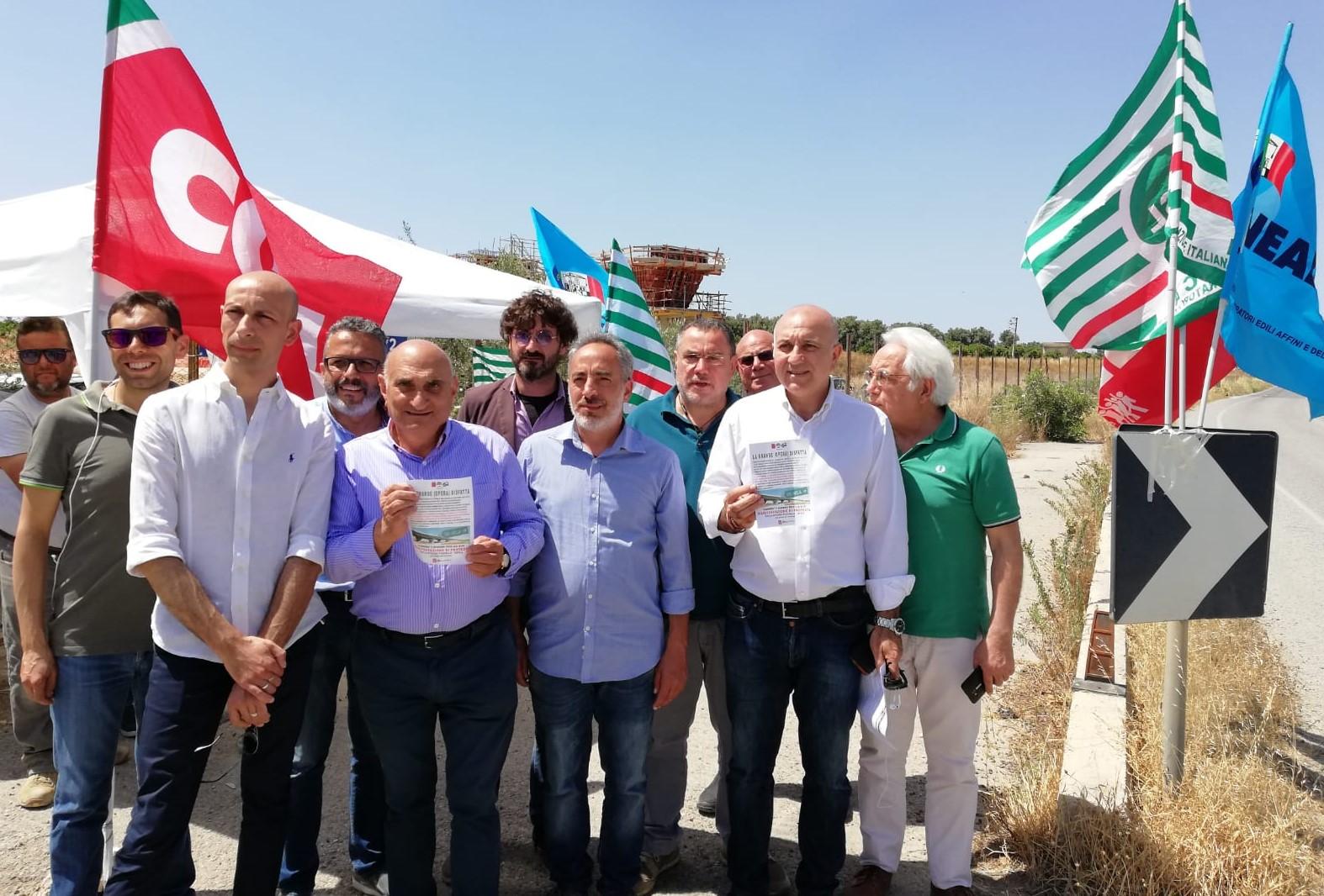 Autostrada Siracusa-Gela: i sindacati annunciano sit in di protesta