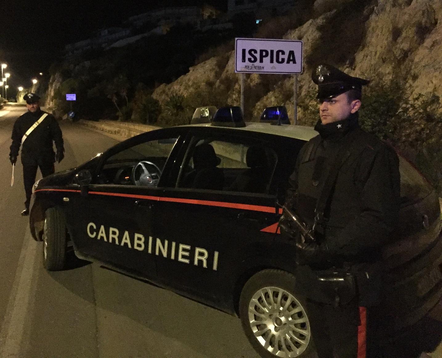 In fuga con un'auto rubata a una donna di Ispica: inseguiti e presi due ladri