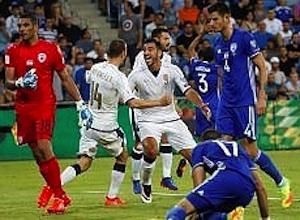 E' partita la corsa per il Mondiale, l'Italia di Ventura cala il tris all'Israele ( 1 - 3)