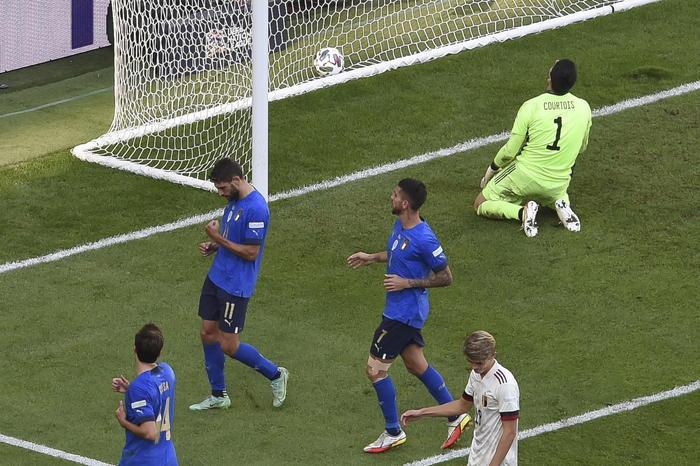 """Nations Leaugue: l'Italia batte il Belgio ( 2 a 1 ) nella """"Finalina"""" e conquista il terzo posto"""
