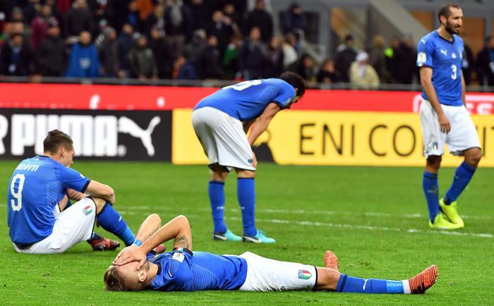 L'Italia della vergogna pareggia con la Svezia: non andrà ai Mondiali di Russia