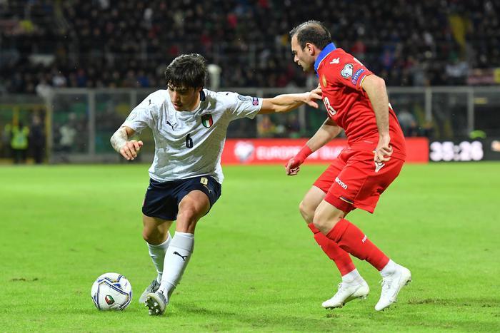 L'Italia dei record incanta Palermo, contro l'Armenia è goleada ( 9 - 1)