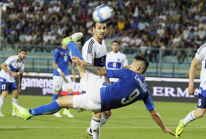 """L'Italia """"sperimentale"""" di Ventura travolge a Empoli il San Marino ( 8 - 0)"""