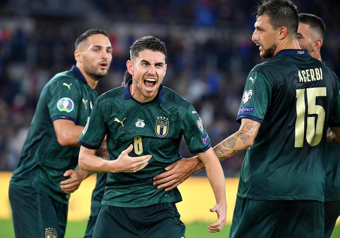 L'Italia batte la Grecia, azzurri qualificati a Euro 2020 con 3 turni di anticipo