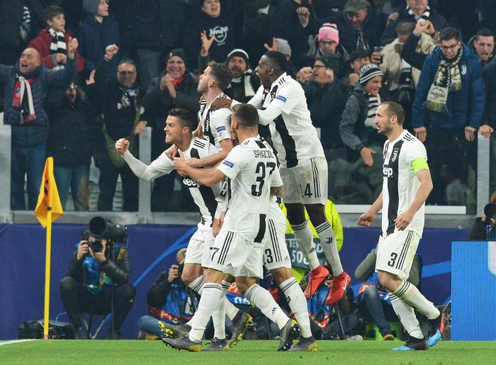 Champions, la Juve ai quarti: annullato l'Atletico Madrid con 3 gol di Ronaldo