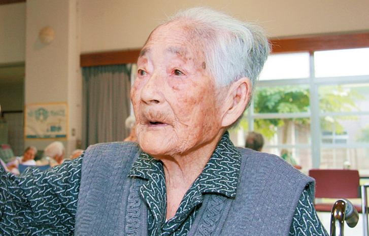 Donna da Guinness in Giappone: ha 116 anni