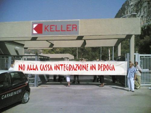 Presentata una nuova offerta per la Keller di Carini, lavoratori pronti a occupare la fabbrica