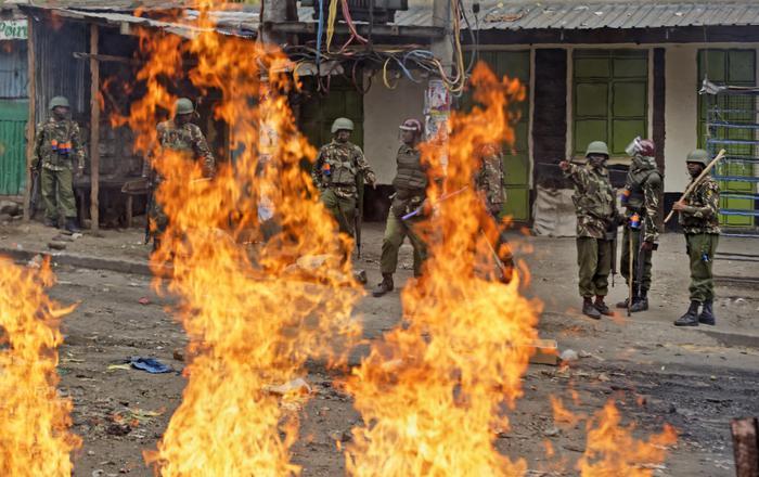 Salgono a 24 i morti in Kenia nel dopo voto