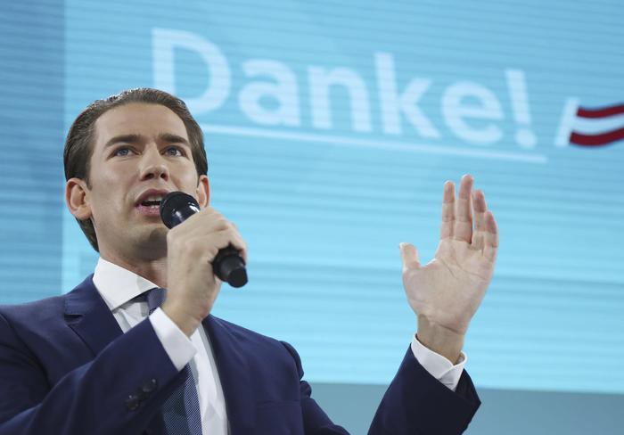 Crolla l'estrema destra in Austria, i Popolari di Kurz vincono le politiche
