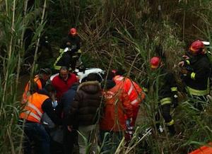 Lamezia Terme, fuoristrada finisce in un torrente: morti due imprenditori