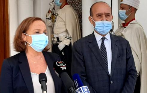 """La ministra Lamorgese ad Algeri: """"Rimpatri più veloci e più cooperazione"""""""