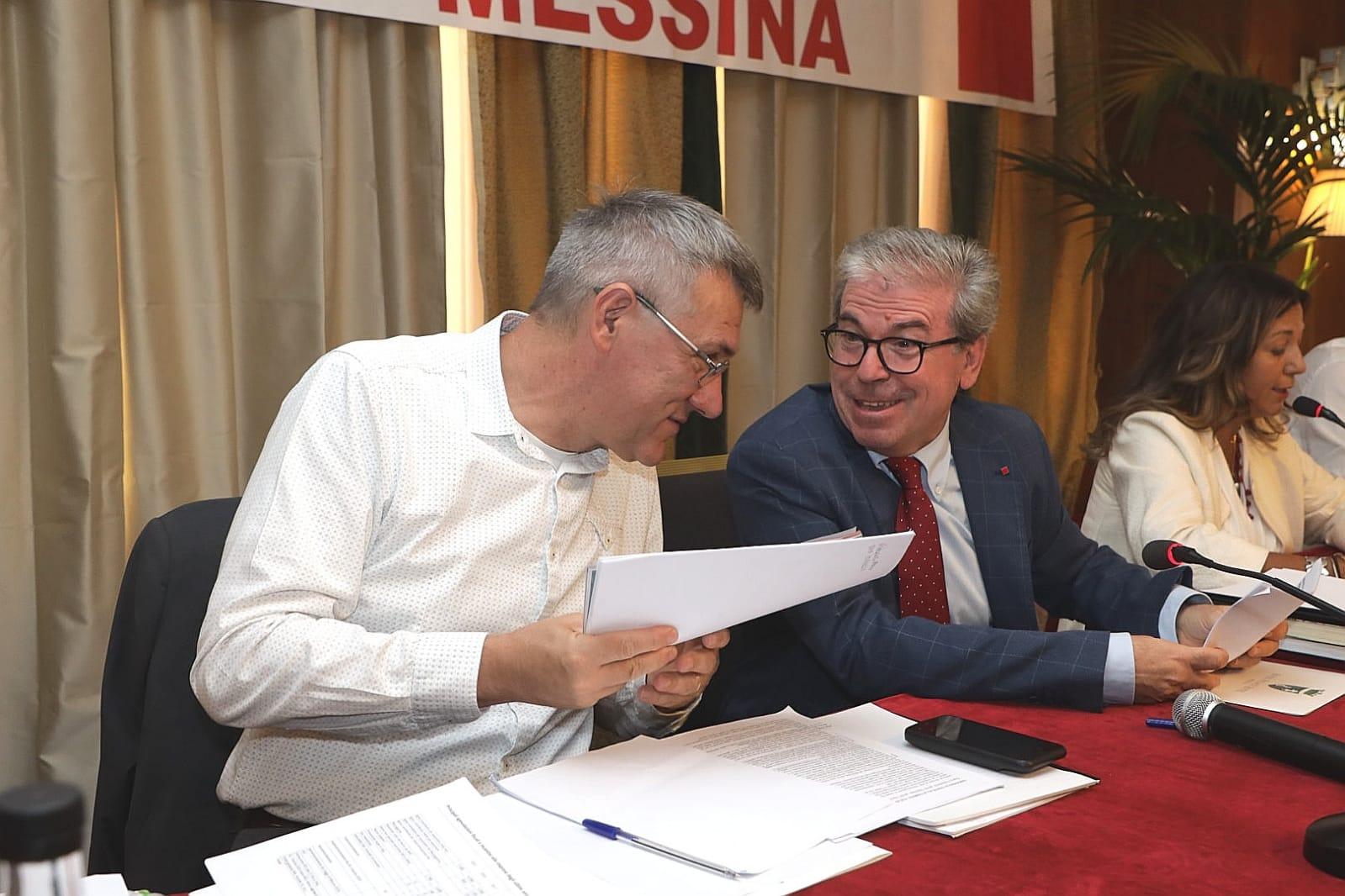 """Il leader della Cgil Landini a Messina: """" Il ponte sullo Stretto non è una grande idea"""""""