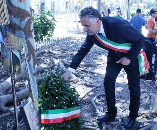 Modica, all'Albero Falcone omaggio alle vittime della strage di Capaci