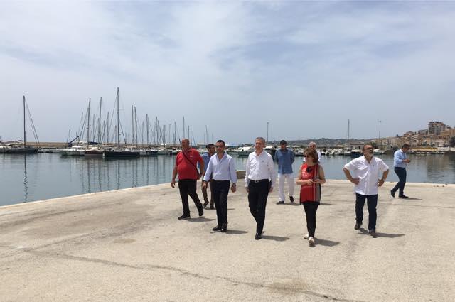 Regione, lunedì al via la consegna dei lavori per completare il porto di Sciacca