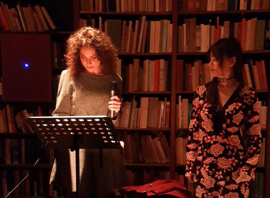 """Ragusa, incontri letterari, Valeria Assenza """"benda"""" la Musa per un reading poetico"""