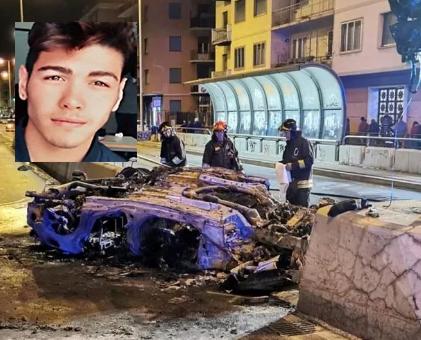 Genova, auto si capovolge: due morti carbonizzati: uno è di San Cataldo