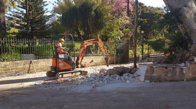 Regione, lavori per la riapertura del Parco d'Orleans a Palermo