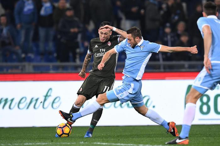 Un capolavoro di Suso salva il Milan: all'Olimpico è 1 a 1 con la Lazio