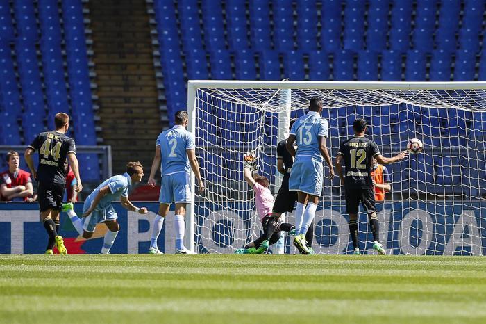 Il tracollo del Palermo, a Roma contro la Lazio rosanero fantasmi incassano sei gol