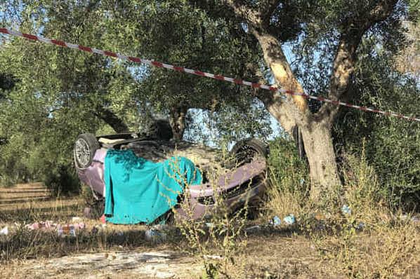 Incidenti stradali in provincia di Lecce, due giovani morti