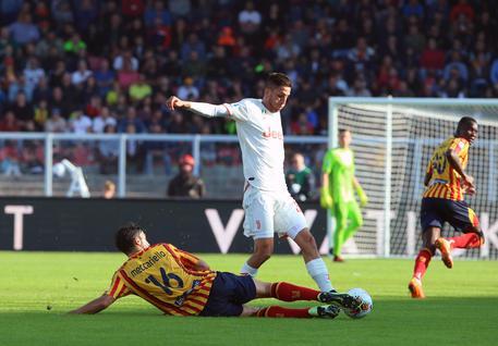 Il Lecce ferma la Juve capolista: due rigori e finisce in parità ( 1 - 1)