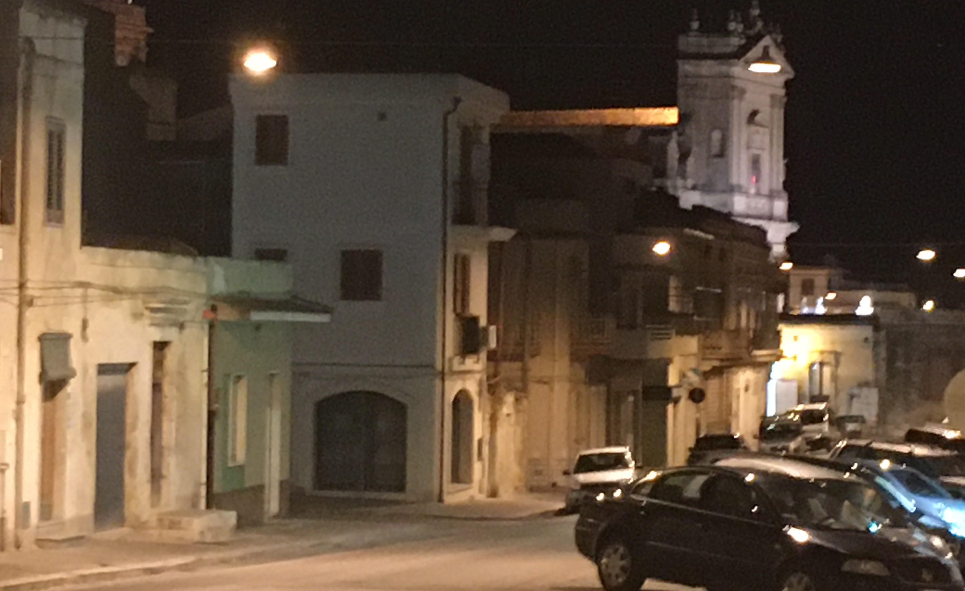 Ispica, arriva l'illuminazione pubblica a led anche nel centro storico cittadino