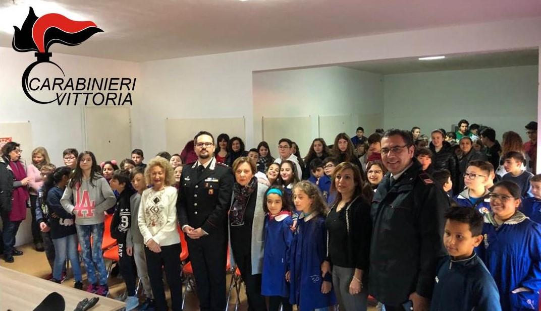 Legalità, al via gli incontri dei Carabinieri di Vittoria con gli studenti