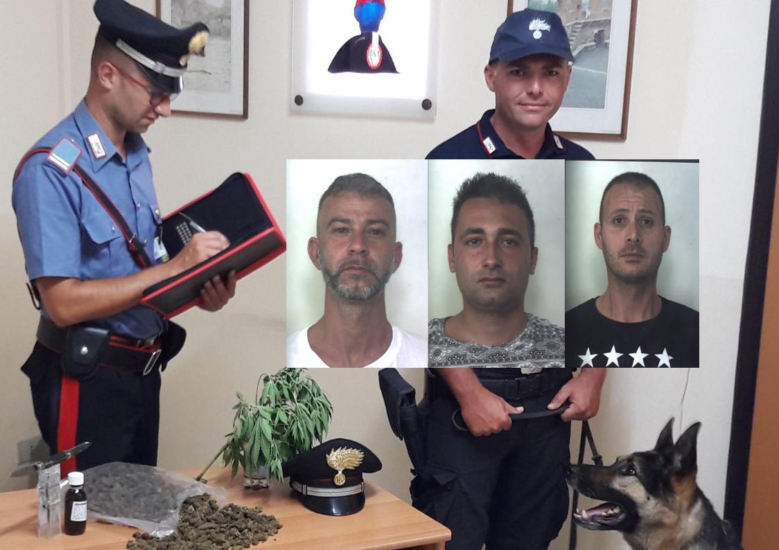 Contrasto allo spaccio a Siracusa, tre arresti dei carabinieri