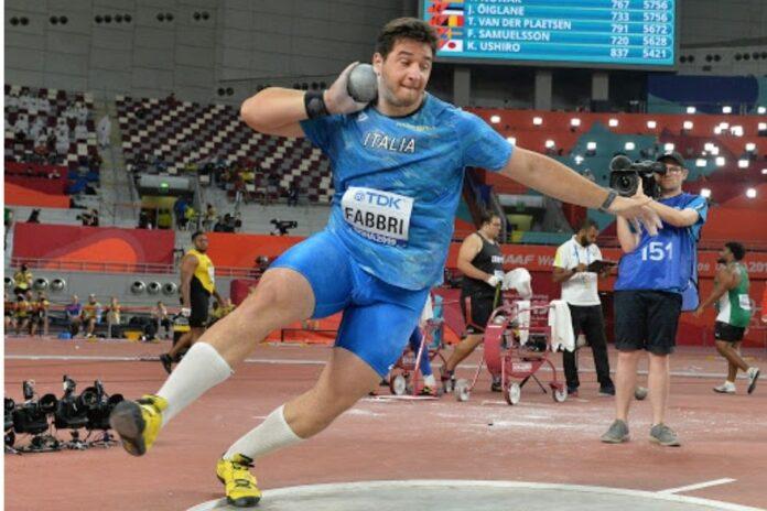 Il recordman indoor del peso Fabbri sceglie Siracusa per la sua preparazione