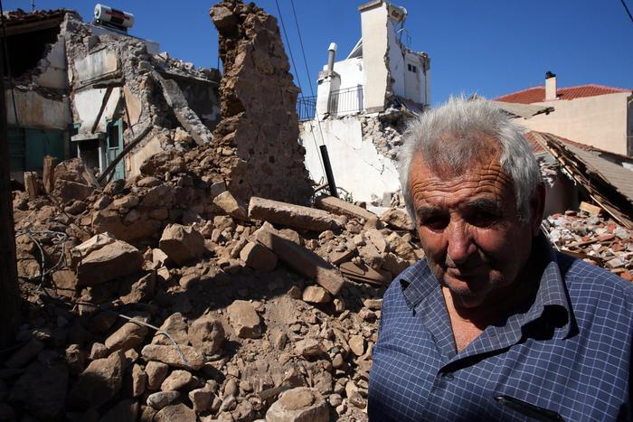 Terremoto in Grecia, un morto e 800 sfollati a Lesbo