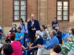 """Letta apre a Palermo la """"Pre Agorà"""": la Democrazia diretta non è nostra"""