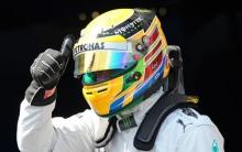 Gp Germania: vince Hamilton, delude Vettel solo quinto
