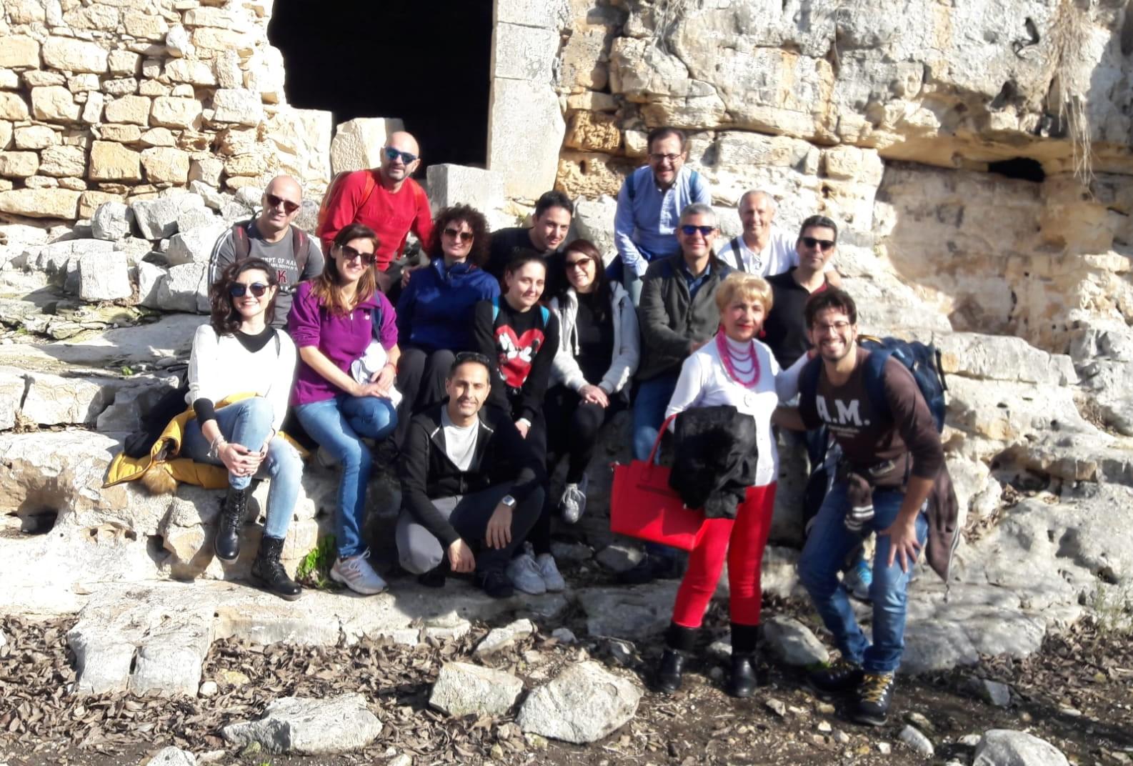 """Modica, """"Liberi di Costruire"""": grande partecipazione all'escursione a Cava Ispica"""