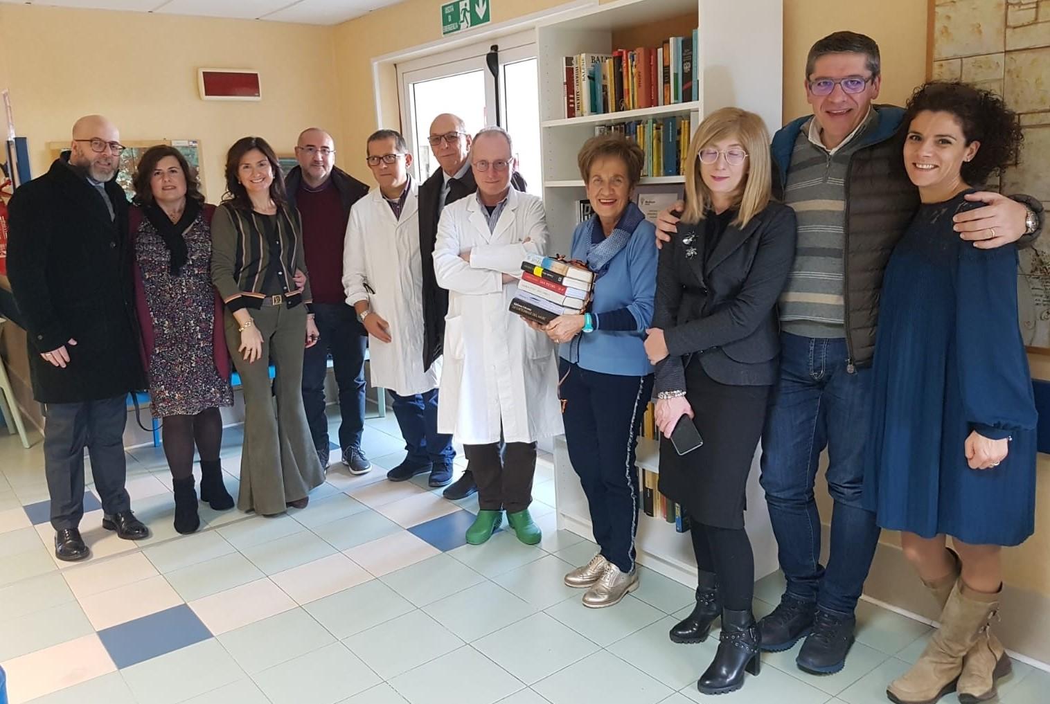 Ragusa, inaugurata la libreria al reparto di Oncologia del Paternò Arezzo