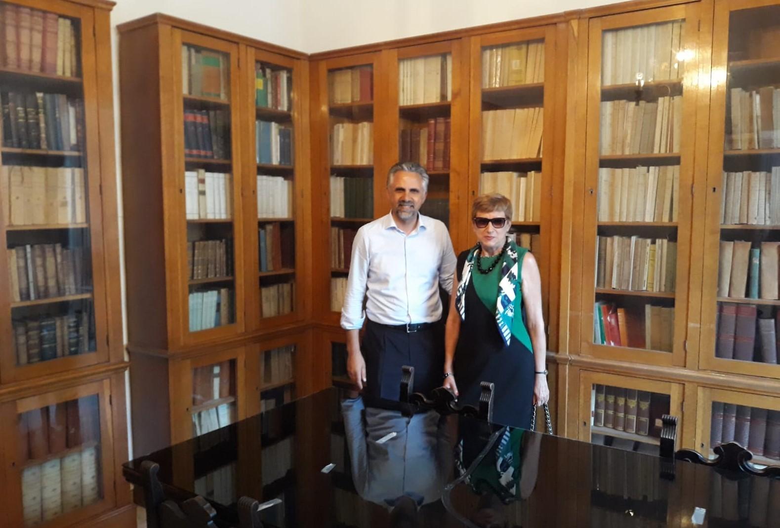 Modica, la libreria dell'avvocato Ammatuna aperta al pubblico al Palacultura