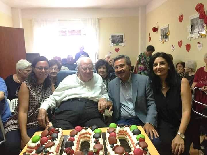 Ex assessore del Comune di Buccheri festeggia i 100 anni