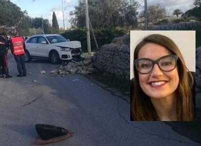Modica, scontro auto-scooter: muore una studentessa di 18 anni