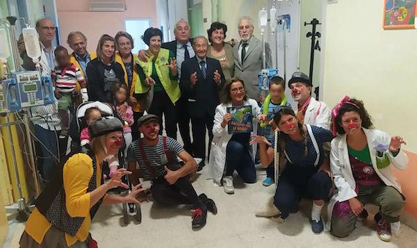 Comicoterapia in pediatria all'ospedale di Ragusa Ibla