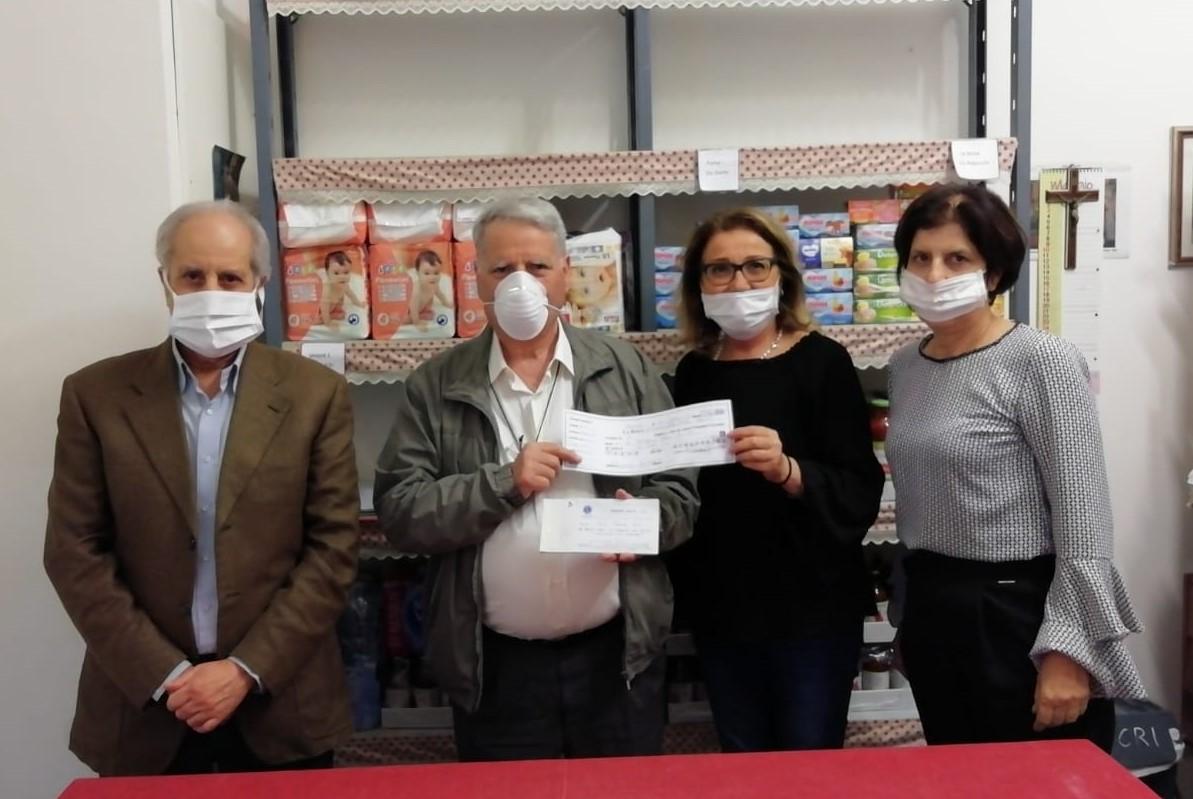 Ragusa, emergenza Covid: il Lions Club a sostegno dei cittadini meno fortunati